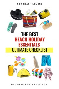 The Best Beach Holiday Essentials For Beach Lovers