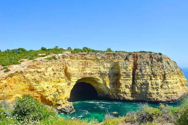 Cheap Beach Vacations - Cove of Algarve in Portugal