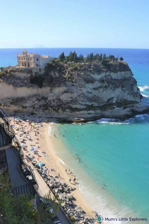 Popular Beach Holiday Destination - Tropea in Calabria