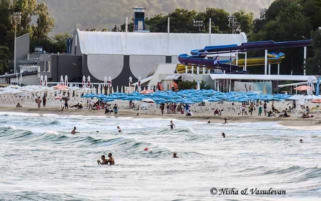 Largest Seaside Resort Town Varna - Varna Beach in Bulgaria