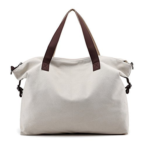 LOSMILE Women s Handbags is a lightweight yet durable and super  multifunctional travel bag. You can easily use as a beach tote bag to gym tote  bag, ... ee9565b392