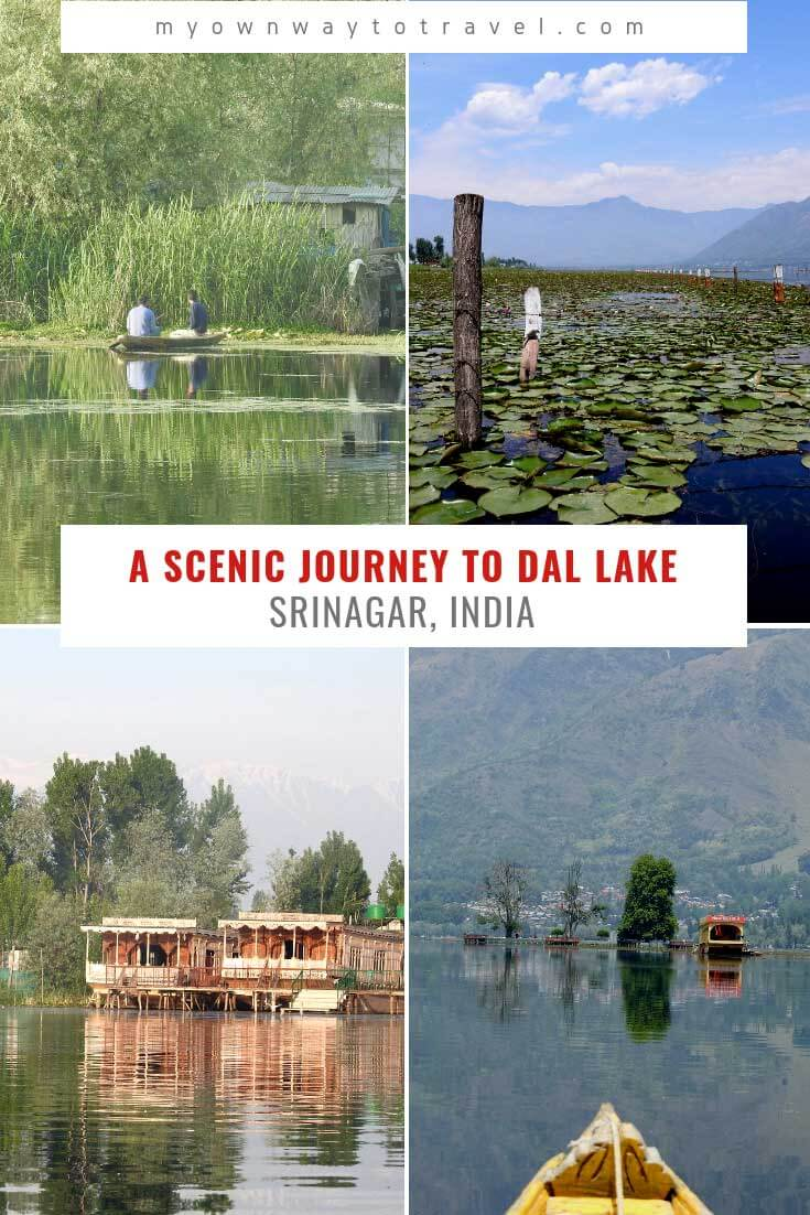 A scenic journey to Dal Lake in Srinagar Jammu and Kashmir