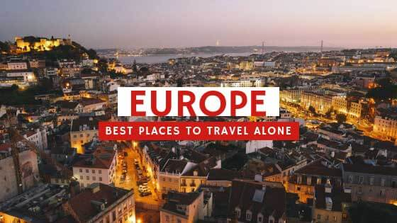Best Places To Travel Alone in Europe