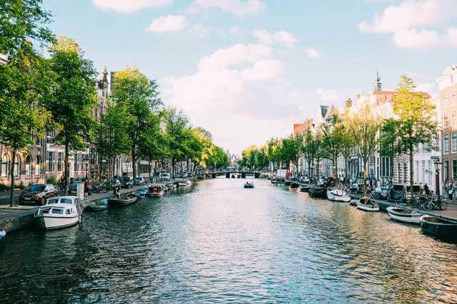 Best Solo Trips in Europe - Amsterdam in the Netherlands