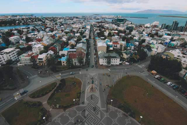 The Most Peaceful Country in Europe - Reykjavik in Iceland