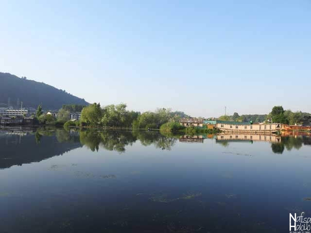Dal Lake Srinagar Photos - The remote beauty of the Dal Lake from the boat
