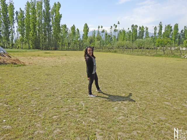 Gulmarg Trip - One Scenic Spot on the Way to Gulmarg from Srinagar