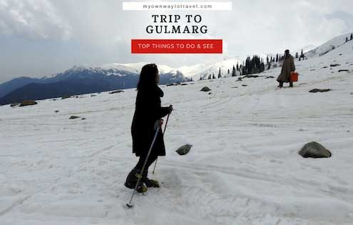 One Day Trip to Gulmarg from Srinagar in Jammu and Kashmir