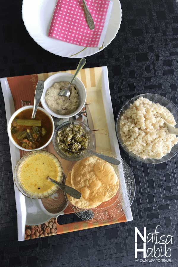 Authentic delicacy of Kerala at Thoppil Homestay