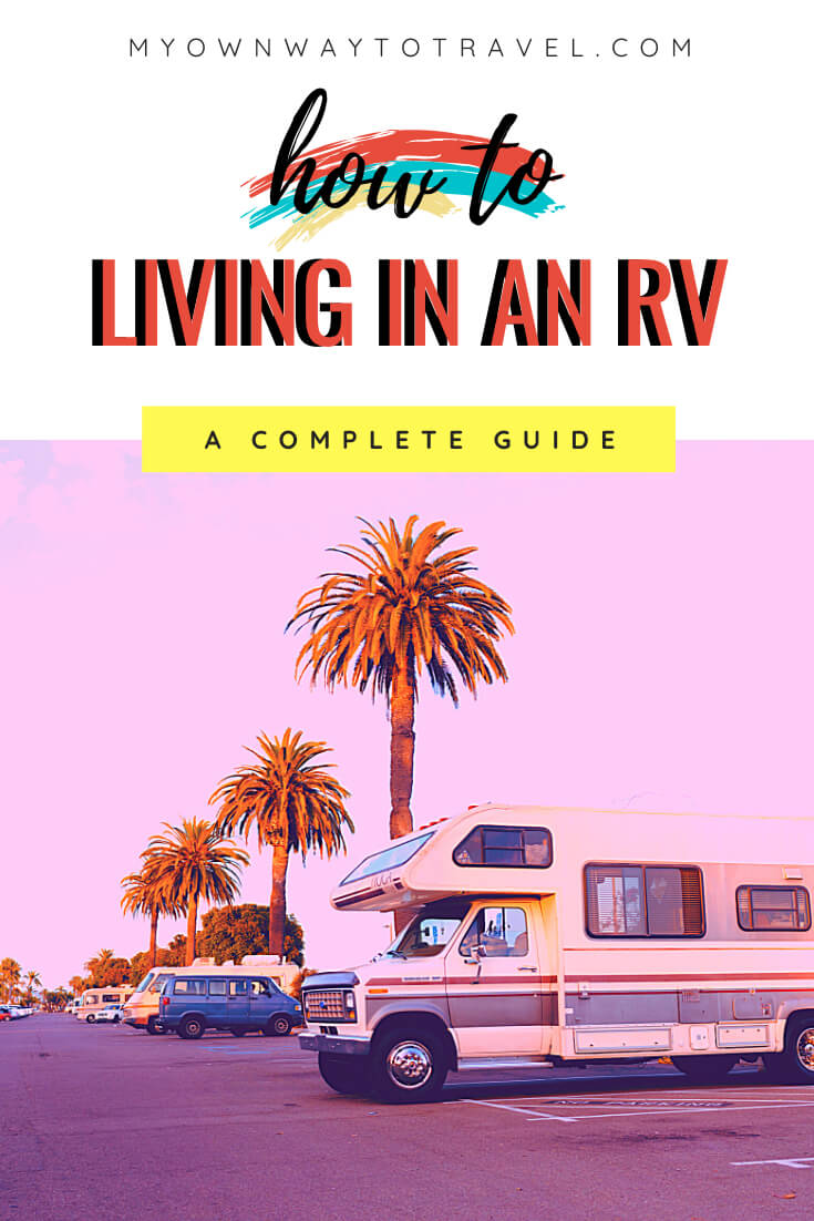 How to living in an RV