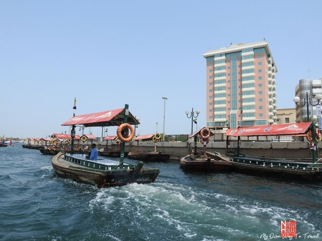 Top things to do in Dubai - Abra ride across Dubai Creek