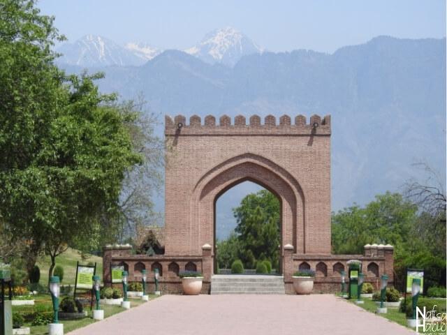 SrinagarIndia points of interest - Beautiful Badamwari Garden in Srinagar