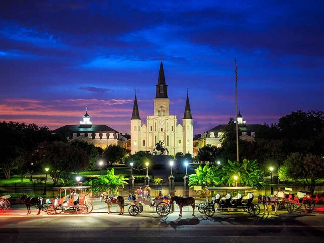 Best places to travel alone -  New Orleans in Louisiana