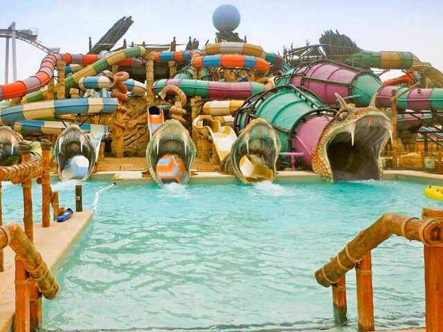 Biggest waterpark in the UAE - Yas Waterworld Abu Dhabi