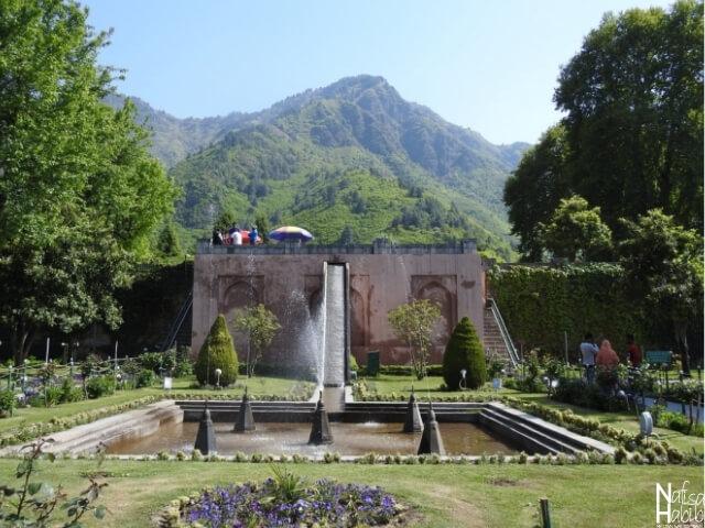 Srinagar garden - Royal Mughal Garden Chashma Shahi in Srinagar