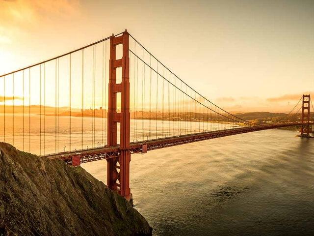 Solo travel California - San Francisco in California