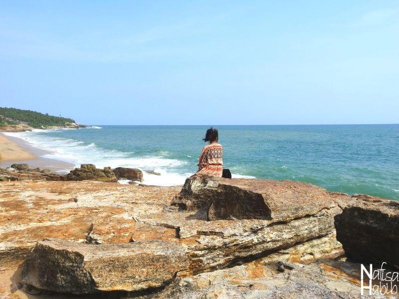 Beaches in Kovalam from Coconut Beach