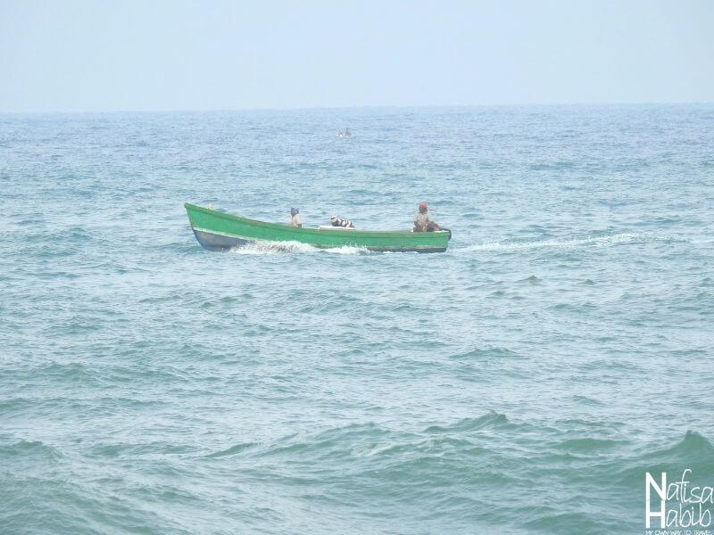 Fishing Boat in the Kovalam Lighthouse Beach