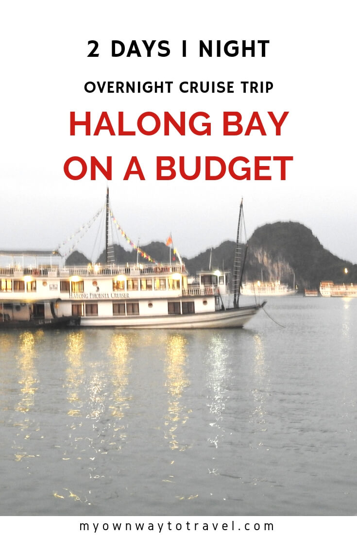 Halong Bay Overnight Cruise Trip on a Budget