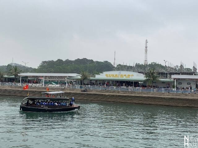 Halong Bay cruise terminal - Tuan Chau Harbour