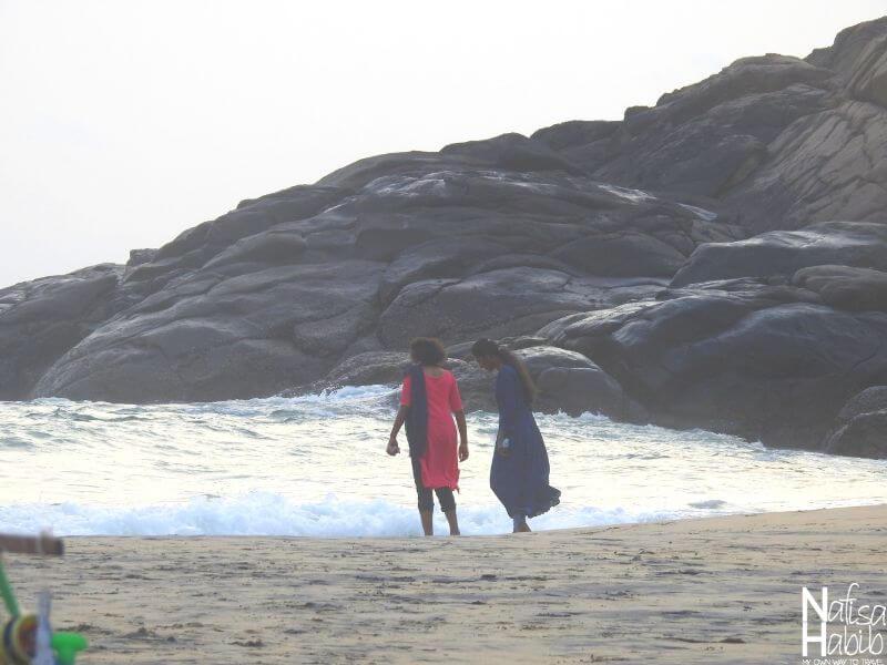 Kovalam Hawa Beach in Kerala