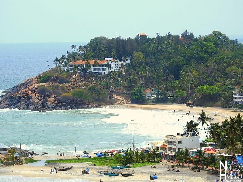 Kovalam sea beach resort in Thiruvananthapuram Kerala