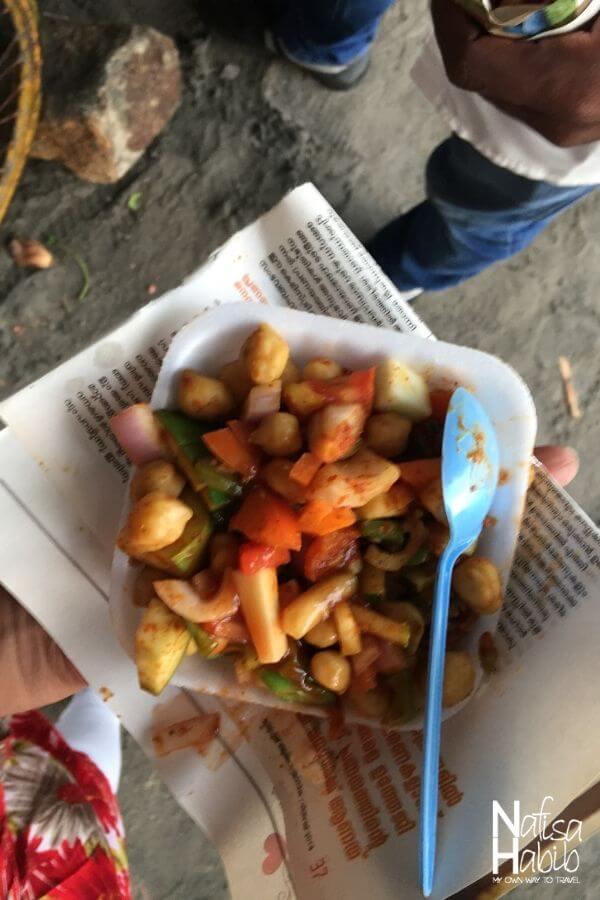 Kovalam street food Kadala