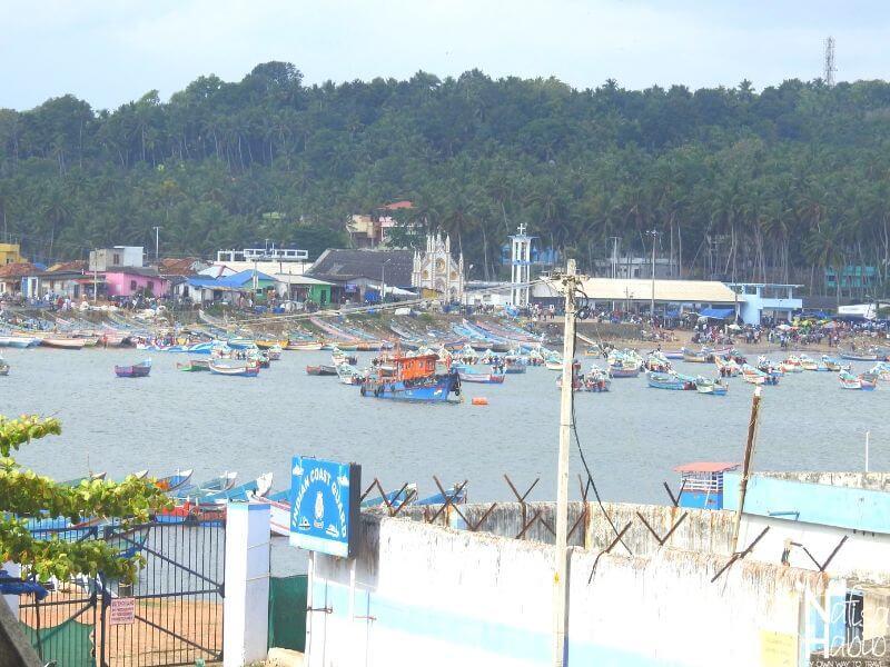 Kovalam places to visit - Vizhinjam Fishing Harbour