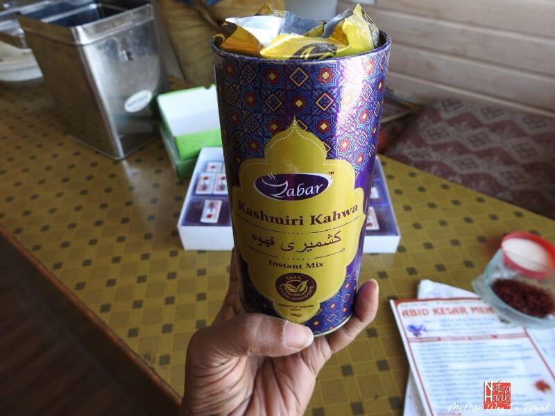 Kashmiri Kahwa Instant Mix from Abid Kesar Mehal Pahalgam