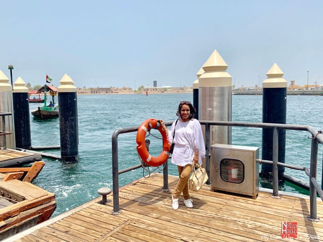 Explore around manmade Dubai Creek