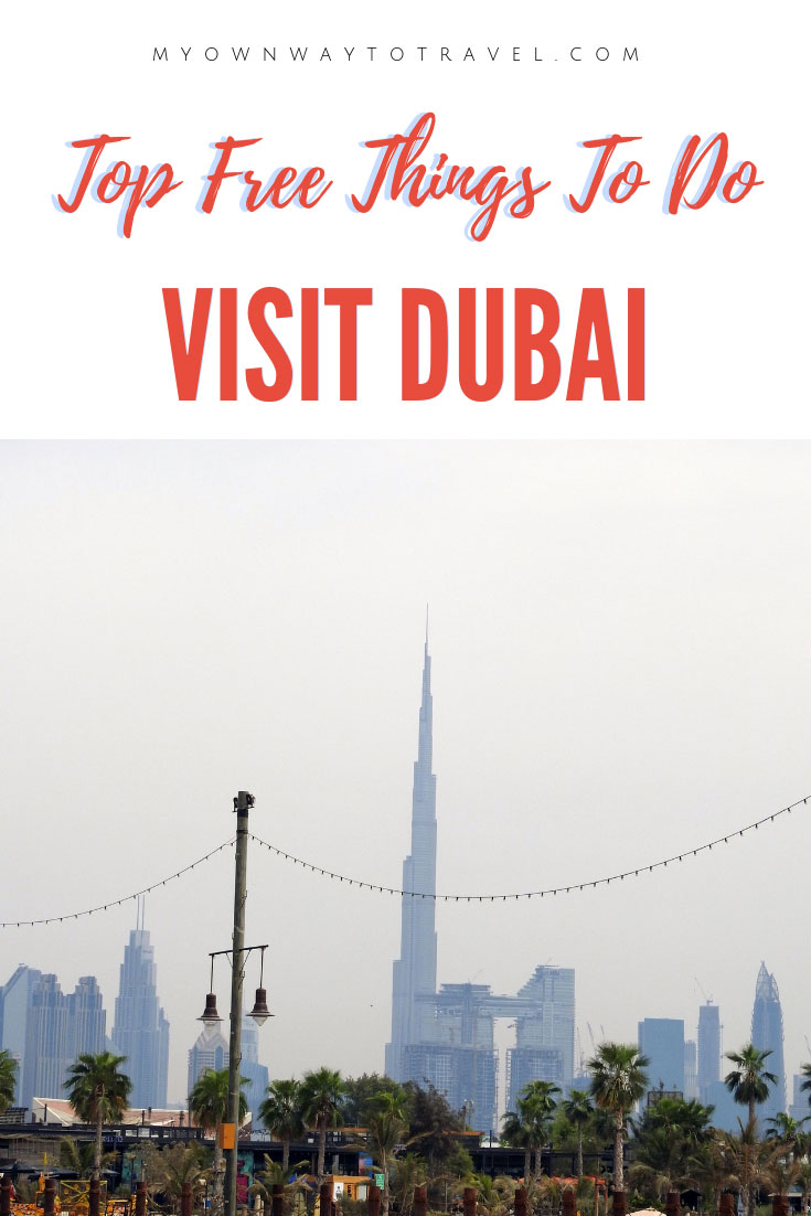 Dubai on a Budget - Free Things To Do in Dubai UAE