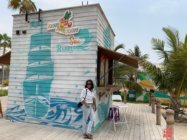 La Mer Beach Cafe in Dubai