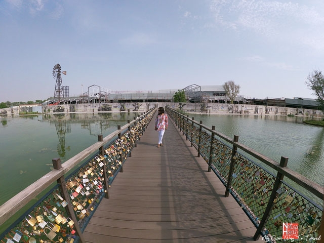Last Exit Dubai Love Locks Bridge