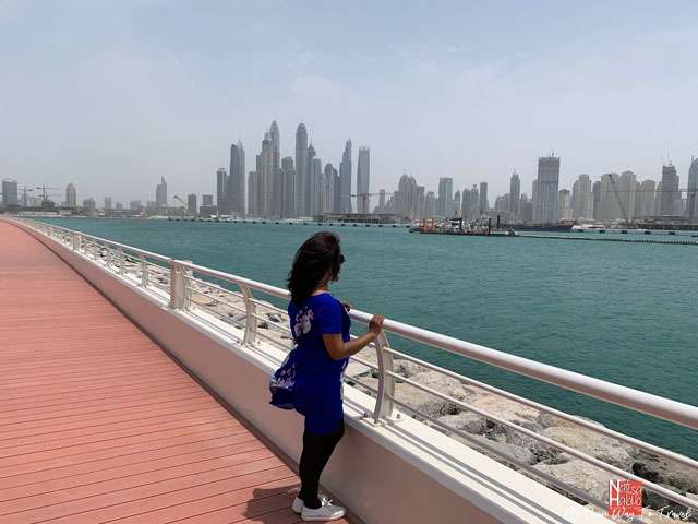 Top Dubai attractions - Palm Jumeirah Waterfront Promenade