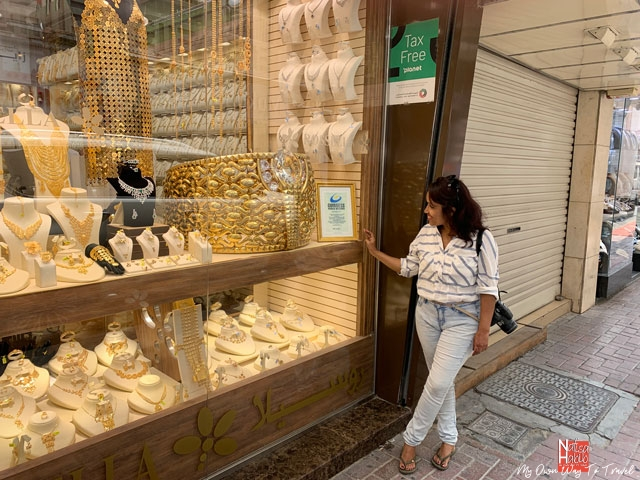 World's heaviest gold ring at Gold Souk in Deira