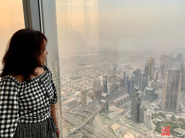 At the top Burj Khalifa SKY