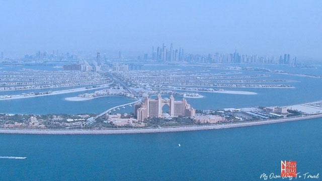 Dubai Palm Islands and Atlantis The Palm