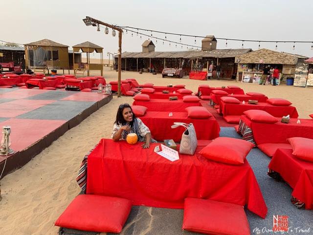 Dubai Unique Desert Tourism Camp