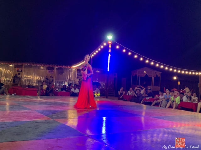 Desert Safari Tour in Dubai - Live performance of the Belly Dance
