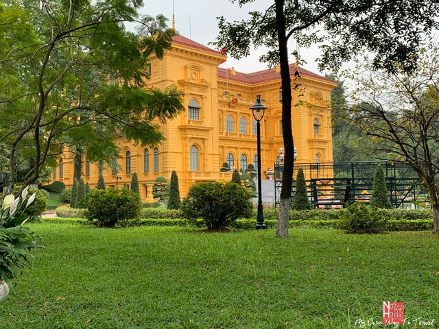 Hanoi top places to visit Presidential Palace