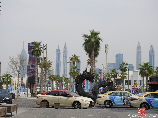 The RTA Taxi in Dubai