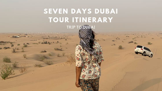 My Solo Trip To Dubai (Seven Days Itinerary)