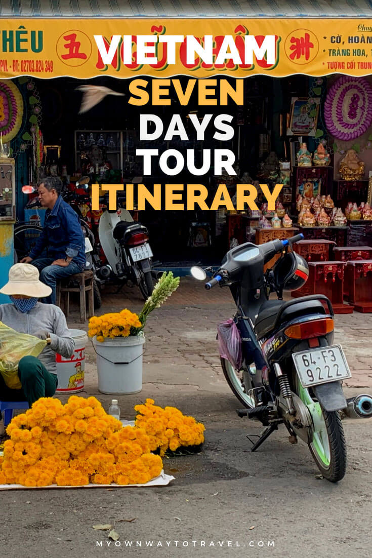 Seven Days Vietnam Tour Itinerary