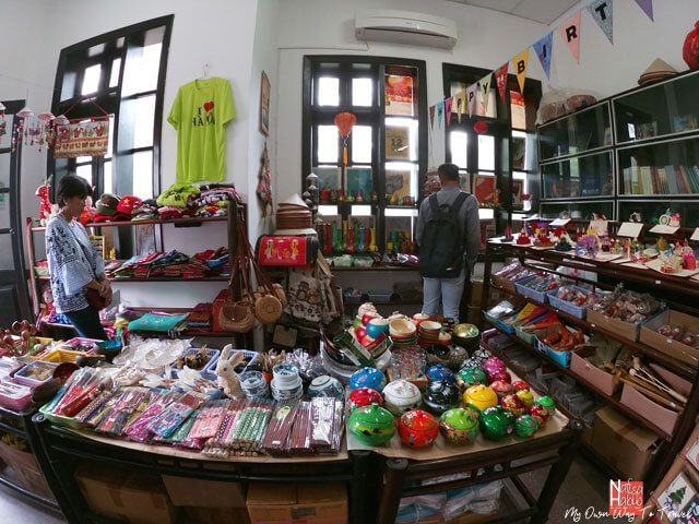 Souvenirs & Gifts shop in Vietnam