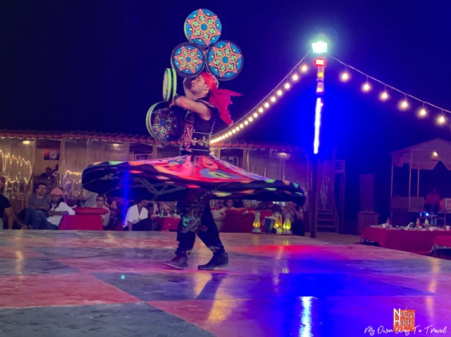 Tanoura Dance in Desert Camp Dubai