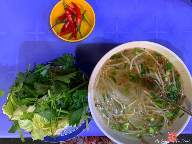 Vietnamese Noodles Soup (Pho)