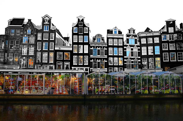 Amsterdam Floating Flower Market