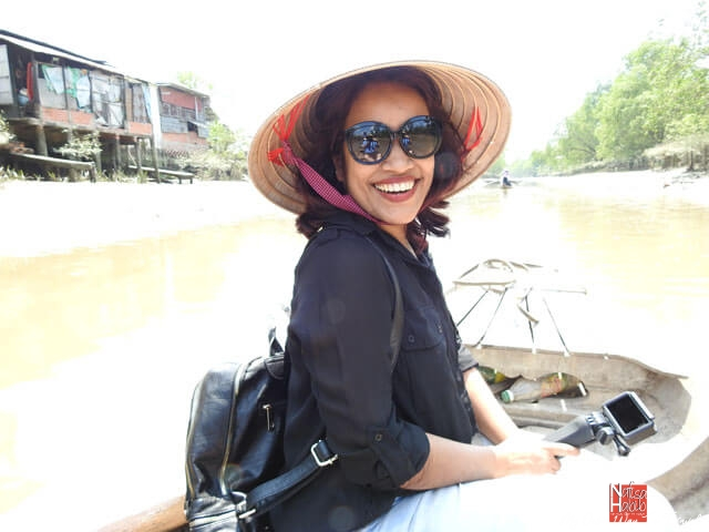 Boat ride through Mekong Delta canals