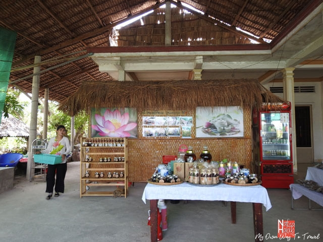 Mekong Delta local products shop