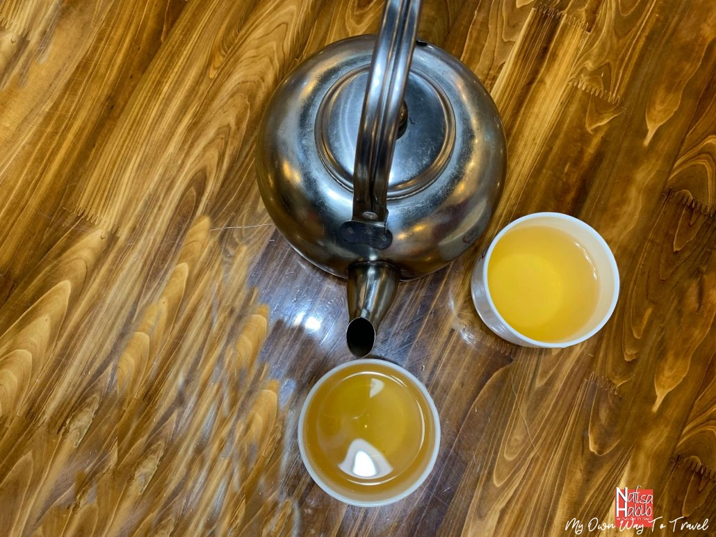 Authentic Chinese tea in Huangshan